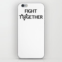 Fight Together iPhone Skin