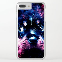 rottweiler puppy dog ws c80 Clear iPhone Case