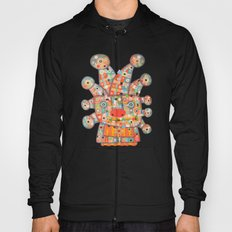 Clown with Flower Hoody