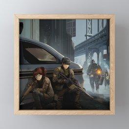 The Division Framed Mini Art Print