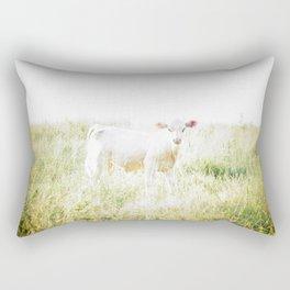 Not a lamb Rectangular Pillow
