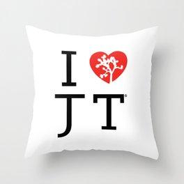 I love Joshua Tree by CREYES Throw Pillow