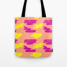 Acid Cloud Tote Bag