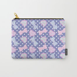 Pretty Baby Brand Whore Allover Pastel Violet Carry-All Pouch