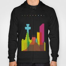 Shapes of Liverpool. Accurate to scale. Hoody
