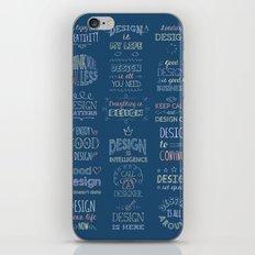 Call a Designer iPhone Skin