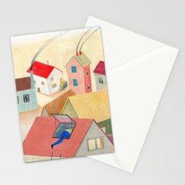 Les fenêtres magiques Stationery Cards