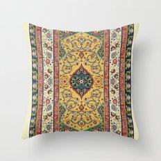 Persian Rug Design 1 Throw Pillow