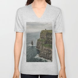 The Cliffs of Moher Unisex V-Neck