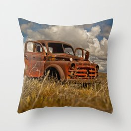 Summer Drive Throw Pillow