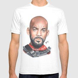 deadshot will smith T-shirt