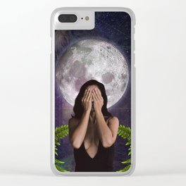 Owl Sight  Clear iPhone Case