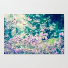Bloom in Purple Canvas Print