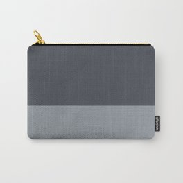 Monochromatic Color Block Carry-All Pouch