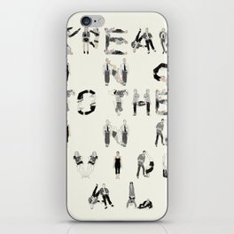 Speak to the individual iPhone Skin