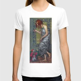 The Princess and the Monkey by Janis Rozentāls (1913) T-shirt