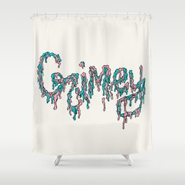 Grimey Shower Curtain