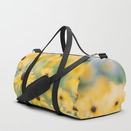 Sunny Disposition - Field of Wildflowers Photography Duffle Bag