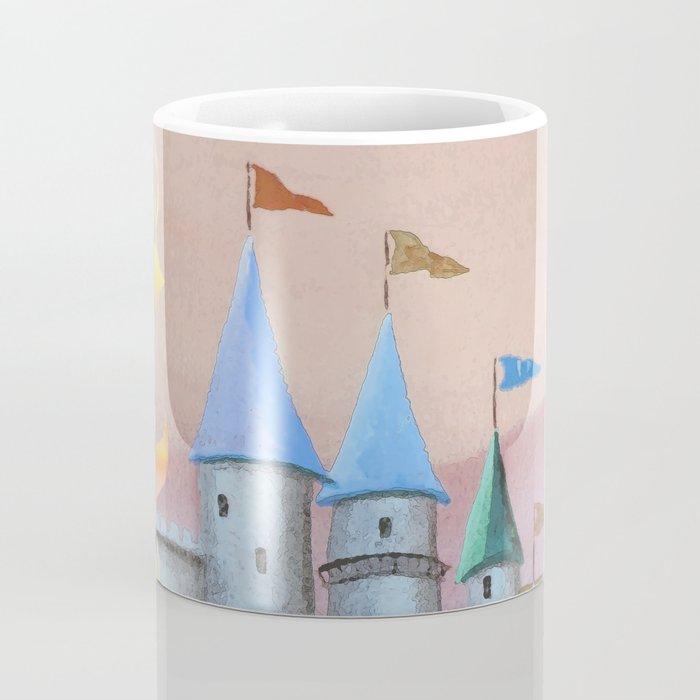 Enchanted Castle after Sunset Coffee Mug