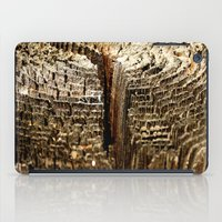 tree rings iPad Cases featuring Tree Rings by tracy-Me