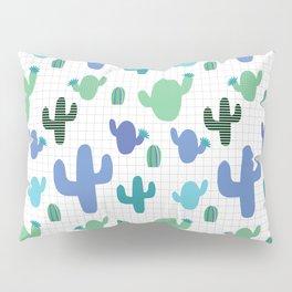 Cactus blue and green #homedecor Pillow Sham