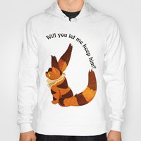 nausicaa Hoodies featuring Teto the Fox-Squirrel by HSuits