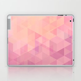 Geometric Pink  Laptop & iPad Skin