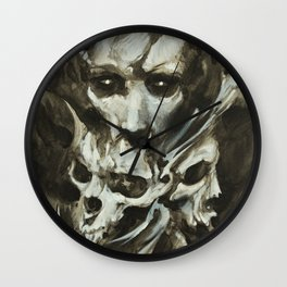 Mouth for War Wall Clock
