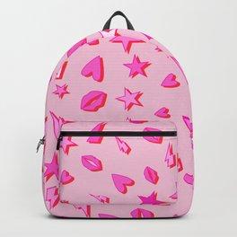 Eighties All Pop Pattern Backpack