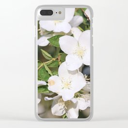 Early Morning Rain Clear iPhone Case