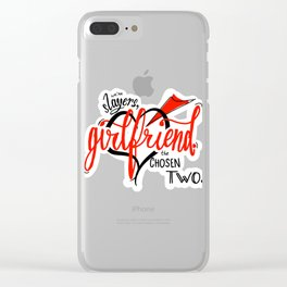 We're Slayers, Girlfriend Clear iPhone Case