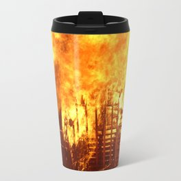 Burning Down the House Travel Mug