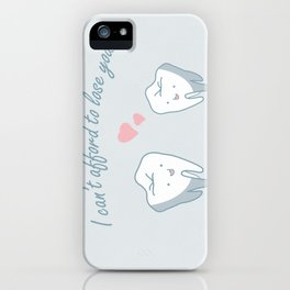 Teeth in Love  iPhone Case