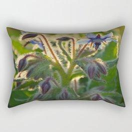 The Beauty of Weeds Rectangular Pillow