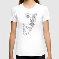 no face T-shirts featuring face by gazonula