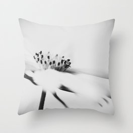 least abstract flower Throw Pillow