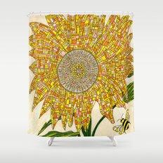 Georgia Sunflower Shower Curtain