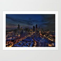 The City Of Big Shoulders Art Print