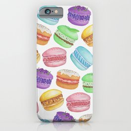 Mad for Macarons iPhone Case