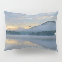 Dreamy Morning: Serene Shades of Blue Pillow Sham