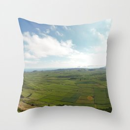 Azores Throw Pillow