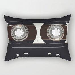 retro old tapes Rectangular Pillow