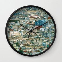 Old Havana (2), Cuba Wall Clock