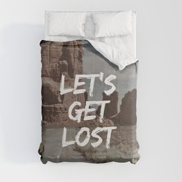 Let's Get Lost Comforters