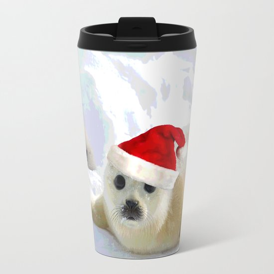 Save Me | Christmas Spirit Metal Travel Mug