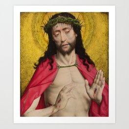 Christ Crowned with Thorns by Dirk Bouts Art Print