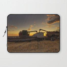 Golden Hour Grain Laptop Sleeve