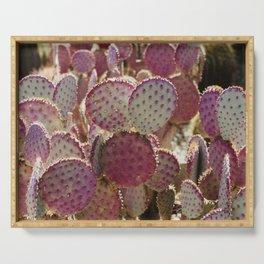 Purple Cactus Serving Tray