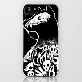 Queen of Death iPhone Case