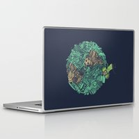 katamari Laptop & iPad Skins featuring Prince Atlas by Hector Mansilla